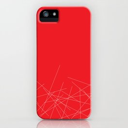 Poppy sticks iPhone Case