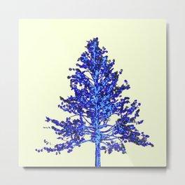 BLUE MOUNTAIN TREE ART Metal Print