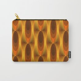 Gold vintage Carry-All Pouch
