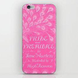 Pride and Prejudice - Hot Pink iPhone Skin