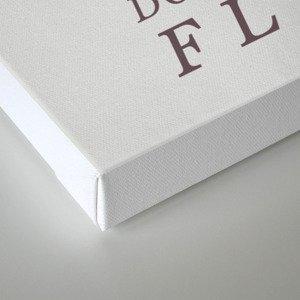 Mind Flayer (Typography) Canvas Print