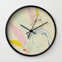murray Wall Clocks featuring 18. Murray by chowdair