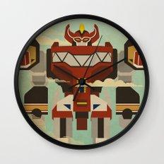 The Mega of the Zords Wall Clock