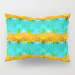 Summer Vibes Tie Dye in Tropical Pillow Sham