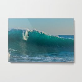 Long Drop Metal Print