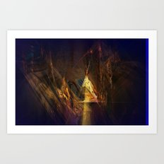 Old Indian Hideaway Art Print