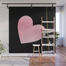 Heart of paper Wall Mural