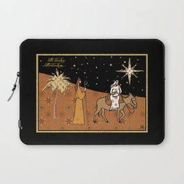 Christmas Nativity - Donkey Amanya Design Laptop Sleeve