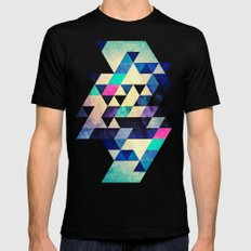 cyld syt MEDIUM Black Mens Fitted Tee