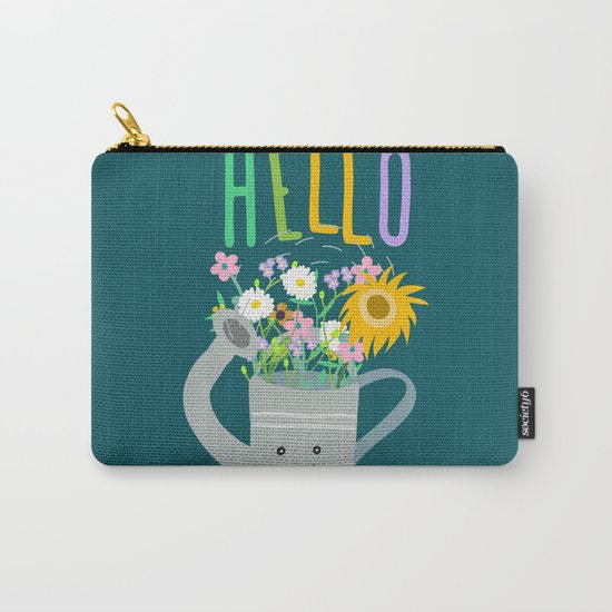 Happy Day- Watering Can Carry-All Pouch