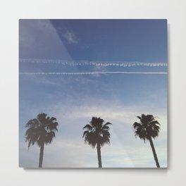 Palm Trio Metal Print
