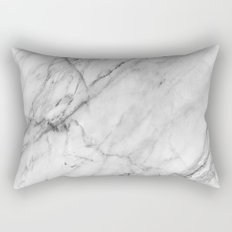 Carrara Marble Rectangular Pillow