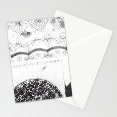 Notebook Collage Stationery Cards