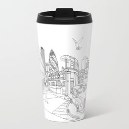 London! Original landscape version Travel Mug