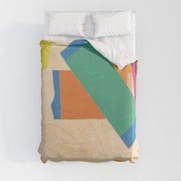 Henri Matisse - Tahiti, Memory of Oceania Tropical cut-out series portrait panting Duvet Cover