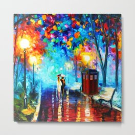 starry night in the painting Metal Print