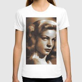 Lauren Bacall, Hollywood Legends T-shirt