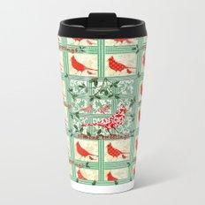 Seasons Tweetings Window Metal Travel Mug