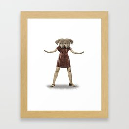 Dear Sisters Framed Art Print