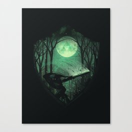 Master Sword Canvas Print