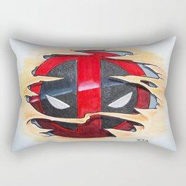 Merc with the Skinrip Rectangular Pillow