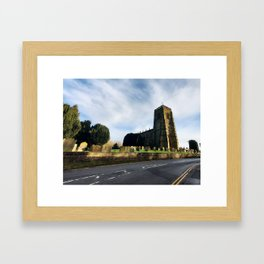 St Mary's Church, 2021 Framed Art Print