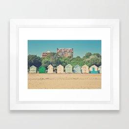 in a row Framed Art Print