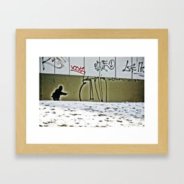 Prague Graffiti # 8 Framed Art Print