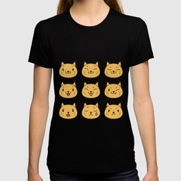 Cats emoji T-shirt