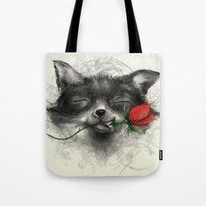 Valentine's Fox Tote Bag