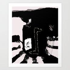 Transfer Art Print