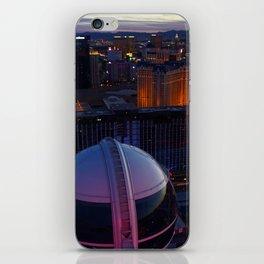Las Vegas Strip from the Highroller iPhone Skin