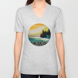 My Nature Collection No. 5 Unisex V-Neck