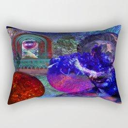 Solar Wall Rectangular Pillow