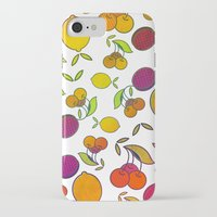 fruits iPhone & iPod Cases featuring Fruits by VessDSign