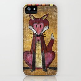 Fox Den iPhone Case