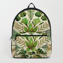 Tropical Symmetry – Olive Green by catcoq