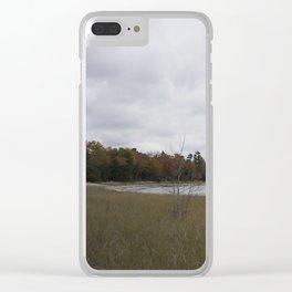 Autumn at Secret Beach Clear iPhone Case
