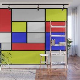 Mondrian #25 Wall Mural