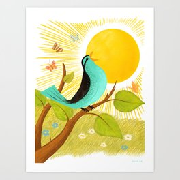 Early To Rise Art Print