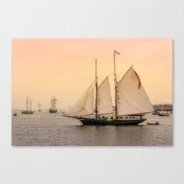 Morning of Glory 2 - Sail Boston 2017 Canvas Print