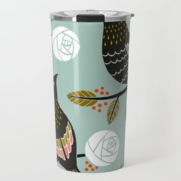 Winterbirds Travel Mug