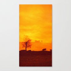 In those first few hours after the dawn Canvas Print