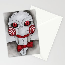 Jig Saw Horror Art Stationery Cards