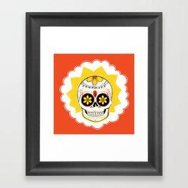 Lisa de los Muertos Framed Art Print