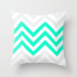 Chevronia V Throw Pillow