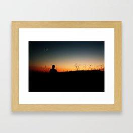 One Summer Night Framed Art Print