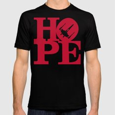 HOPE MEDIUM Mens Fitted Tee Black
