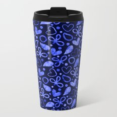 Lovely Pattern ১ Metal Travel Mug
