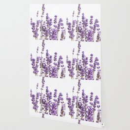 Purple Lavender #1 #decor #art #society6 Wallpaper